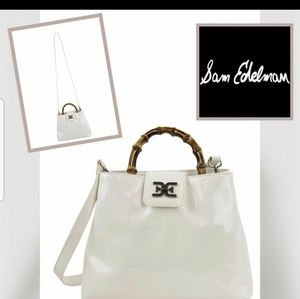 Sam Edelman bag white faux leather